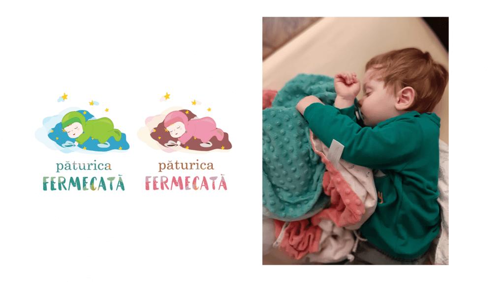 produse copii paturica fermecata